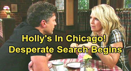 Days of Our Lives Spoilers: Holly's in Chicago Based On New Lead - Eric, Jack and Jennifer Desperate Reunion Mission
