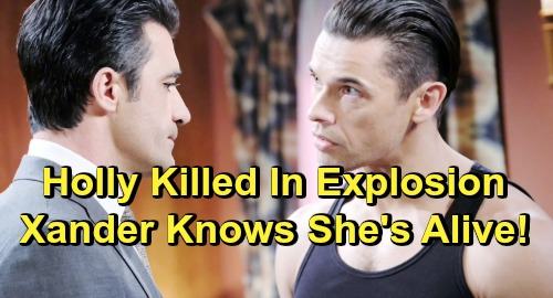 Days of Our Lives Spoilers: Holly Presumed Dead, Killed In Explosion - But Ted and Xander Know She's Alive