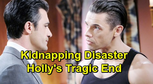 Days of Our Lives Spoilers: Kidnapping Disaster, Terrible Accident Involving Holly - Nicole Loses Beloved Daughter?
