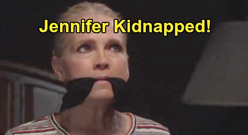 Days of Our Lives Spoilers: Jennifer Kidnapped – Hero Jack Saves True Love From Memory Mission Danger