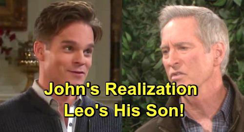 Days of Our Lives Spoilers: John Black's Startling Realization - Leo Stark's His Son