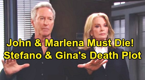 Days of Our Lives Spoilers: John and Marlena Must 'Die' – Stefano and Princess Gina's Wild Death Plot