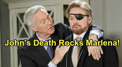 Days of Our Lives Spoilers: John's Death Rocks Marlena, 'Steve' Delivers Crushing Blow