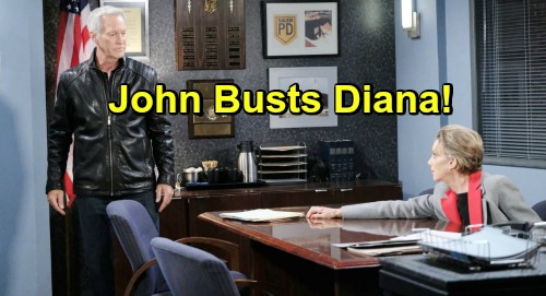 Days of Our Lives Spoilers: Diana Busted - Furious John Discovers Marlena Poisoning Scheme