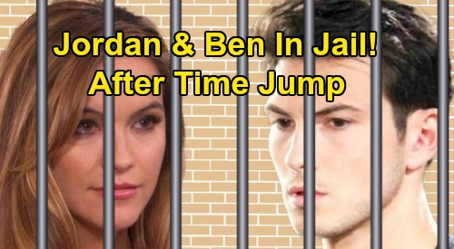 Days of Our Lives Spoilers: Two DOOL Characters Headed To Prison - Time-Jump Madness, Jordan and Ben Locked Up?