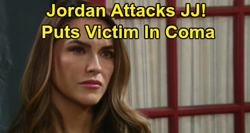 Days of Our Lives Spoilers: Jordan's Brutal Assault Puts JJ In A Coma - Cupcake Poisoner Headed To Prison?