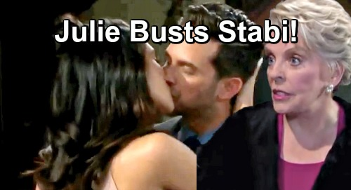 Days of Our Lives Spoilers: Stefan and Gabi Can't Control Wild Passion – Stabi Busted by Julie