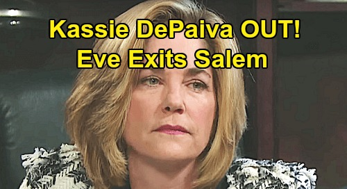 Days of Our Lives Spoilers: Kassie DePaiva Out at DOOL – Eve Donovan's Salem Exit
