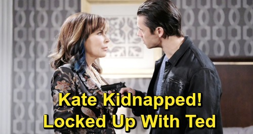 Days of Our Lives Spoilers: Kate Kidnapped After Xander Murder Discovery, 911 Call Spells Trouble –  Thrown in Captivity with Ted