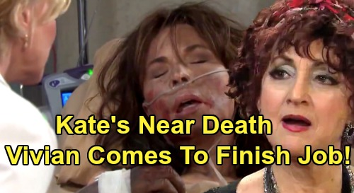 Days of Our Lives Spoilers: Kate In Critical Condition After Being Shot - Vivian Comes To Hospital To Finish Her Off