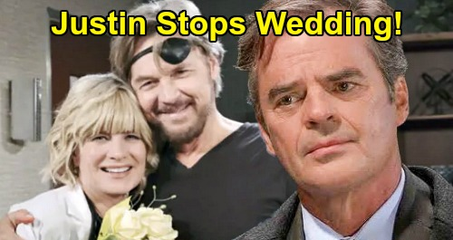 Days of Our Lives Spoilers: Justin Stops the Wedding – Lets Kayla Reunite with Steve, Won't Stand in True Love's Way