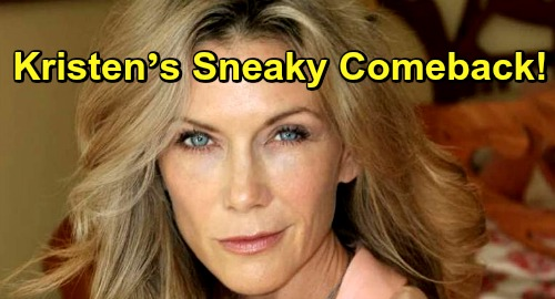 Days of Our Lives Spoilers: Kristen's Sneaky Comeback Plot – Xander's Other Partner in Crime Causes Chaos