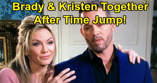 Days of Our Lives Spoilers: Brady Wakes Up In Kristen's Bed - Couple Together After Time Jump?