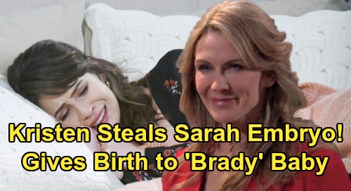 Days of Our Lives Spoilers: Kristen Steals Sarah's Embryo – Passes Off Eric's Baby as Brady's with Dr. Rolf's Help?