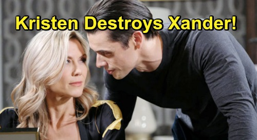 Days of Our Lives Spoilers: Kristen Destroys Xander Over Betrayal – Burned Partner's Fierce Revenge For Ted and Kate's Survival