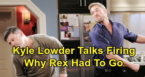 Days of Our Lives Spoilers: Kyle Lowder Spills Firing Details – DOOL Star Reveals Why Rex Had to Exit Salem