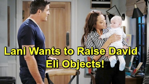 Days of Our Lives Spoilers: Lani Wants To Raise Jordan's Baby David As Her Own - Eli Objects