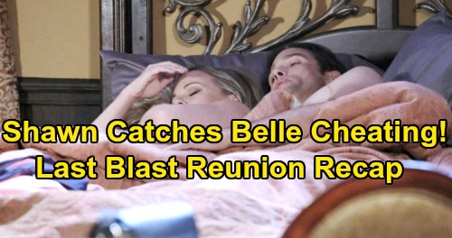 Days of Our Lives Spoilers: Mimi Stabbed To Death - Shawn Catches Belle In Bed With Phillip - Last Blast Reunion Chapter 1, Episode 5 Recap