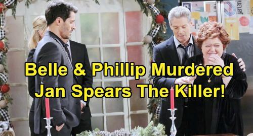 Days of Our Lives Spoilers: Phillip & Belle Murdered - Jan Spears Revealed As Killer - 'Last Blast Reunion' Chapter 1 Episode 6 Recap