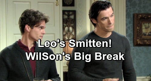 Days of Our Lives Spoilers: Leo's Smitten With Xander - Just The Break WilSon Need to Get Rid of The Pest?