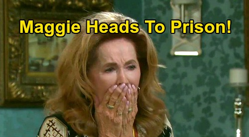 Days of Our Lives Spoilers: Maggie Heads to Prison for Killing Adrienne – Tearful Goodbye Leaves Victor and Family Behind