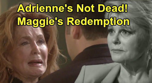 Days of Our Lives Spoilers: Adrienne Kiriakis Alive - DOOL's Next Twist Brings Redemption for Maggie – Judi Evans Return Shocker?