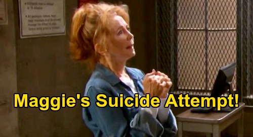Days of Our Lives Spoilers: Maggie's Suicide Attempt - Xander Races to Statesville to Revive Sarah's Dying Mom?