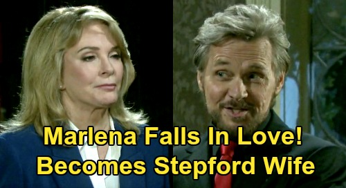 Days Of Our Lives Spoilers Marlena Gets Steamy With Stefano Becomes Shocking Stepford Wife After Implant Celeb Dirty Laundry