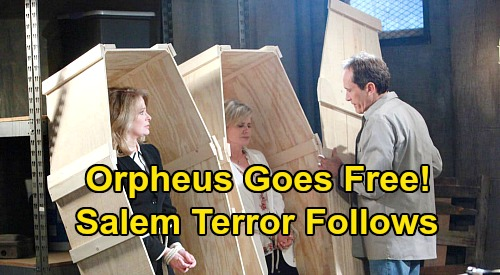 Days of Our Lives Spoilers: Orpheus Scores Freedom, Faces Off with Marlena – Salem Terror Follows
