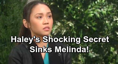 Days of Our Lives Spoilers: Melinda Trask Quits DA Gig For Mayoral Bid - Will Haley's Shocking Secret Derail Plans?