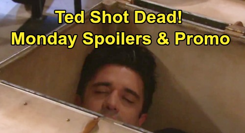 Days of Our Lives Spoilers: Monday, August 5 – Ted Ends Up Dead from Gunshot Wound – Stefan Reels Over Gabi's Takedown