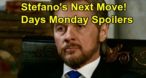 Days of Our Lives Spoilers: Monday, December 2 – 'Stefano' Plots Next Move – Clyde's Attack on Will - Jarlena Solve Mystery