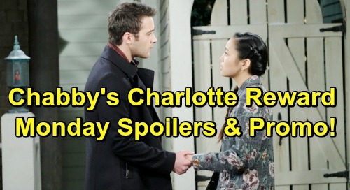 Days of Our Lives Spoilers: Monday, February 11 – JJ Thanks Jack While Eve Plots – Chabby's Desperate Charlotte Reward