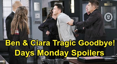 Days of Our Lives Spoilers: Monday, February 24 – Ben & Ciara's Tragic Goodbye – Maggie's Memory Flood – Gabi Sees Freedom