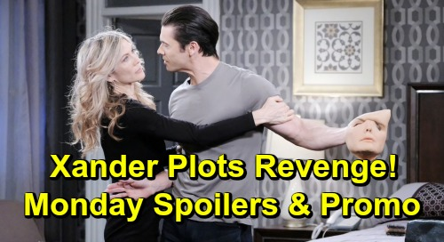 Days of Our Lives Spoilers: Monday, July 15 – Nicole's Seduction of Brady Flops – Arrested Xander Plots Revenge – Stefan Spins Out