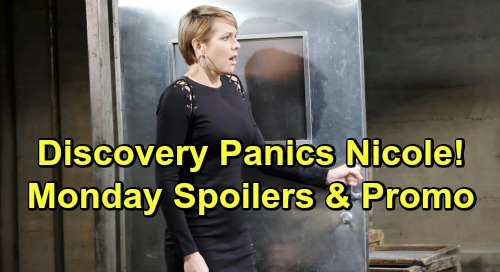 Days of Our Lives Spoilers Monday, July 8: 'Nicole' Panics Over Hostage Discovery – Brady Reveals Stefan Takedown Plot to Chloe