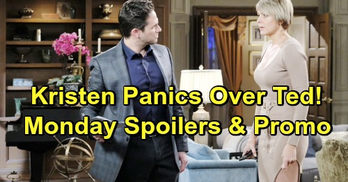 Days of Our Lives Spoilers: Monday, June 17 – Kristen Struggles To Hide Unconscious Ted – Will Remarries Sonny