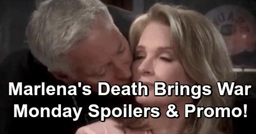 Days of Our Lives Spoilers: Monday, March 18 – Marlena's Death Leads Princess Gina, Andre and Tony to War – John Needs a Miracle
