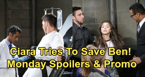 Days of Our Lives Spoilers: Monday, March 2 – Dr. Rolf Horrifies Kayla - Evan Spills The Truth – Ciara & Will Try To Save Ben