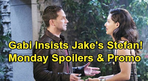 Days of Our Lives Spoilers: Monday, May 4 – Gabi Insists Jake Is Stefan, Says Stop Lying – Rex Knocked Out Cold, Tied Up By Sarah