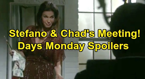 Days of Our Lives Spoilers: Monday, November 18 – Stefano Agrees To Meet Chad – Will's Crushing Guilt – Marlena Kicks 'Hope' Out