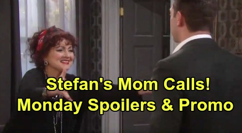 Days of Our Lives Spoilers: Monday, September 2 – Stefan Gets Stunning Call from Vivian – Jack and Jennifer's Pitch to Dr. Rolf