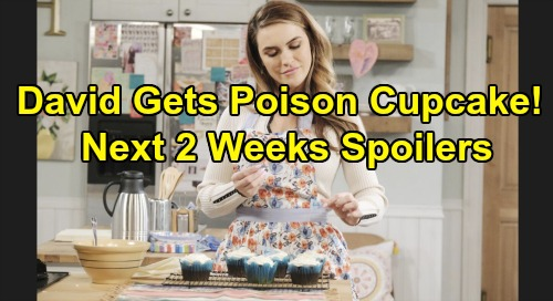 Days of Our Lives Spoilers Next 2 Weeks: Jordan's Attack on JJ – David's Poison Cupcake – Princess Gina Confuses Xander