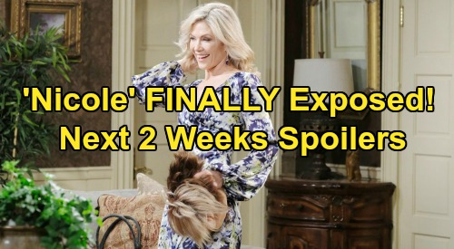 Days of Our Lives Spoilers Next 2 Weeks: 'Nicole' Exposed as Kristen, Jarlena Party Mayhem Erupts – Furious Brady Wants Answers