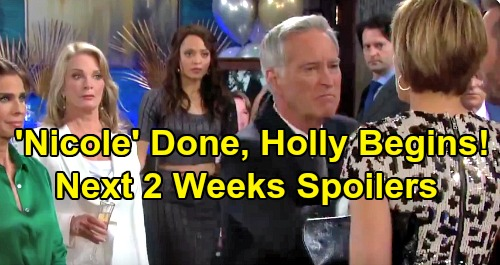 Days of Our Lives Spoilers Next 2 Weeks: Kristen Unmasked & Violent - Tony Arrested – Hunt For Holly - Chloe's Exit Looms