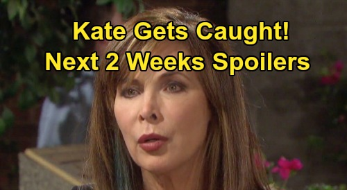 Days of Our Lives Spoilers Next 2 Weeks: Ben and Ciara Dig for Nicole Evidence – Eve's Legal Battle – Kate Gets Caught