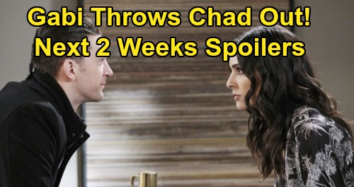 Days of Our Lives Spoilers Next 2 Weeks: Ben Stabbed, Clyde Thrown Back in Solitary – Gabi Kicks Chad Out – Ciara Gets Terrible News