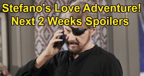 Days of Our Lives Spoilers Next 2 Weeks: Rafe Summons Shawn – Princess Gina Boosts Stefano's Love Life – Eli Proposes to Gabi