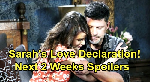 Days of Our Lives Spoilers Next 2 Weeks: Xander Hears Sarah's Love Declaration – Double Death Reveal – Nicole's Shocking Confession