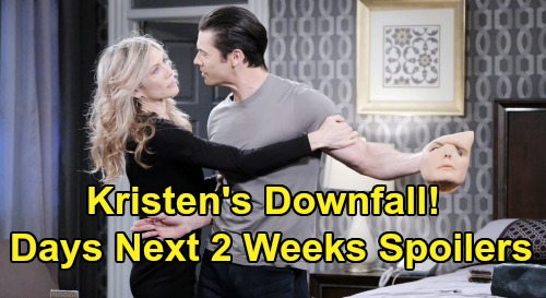 Days of Our Lives Spoilers Next 2 Weeks: Claire Visions Haunt Haley – Susan Holds Kristen at Gunpoint – Sneaky Eve Betrays Jack